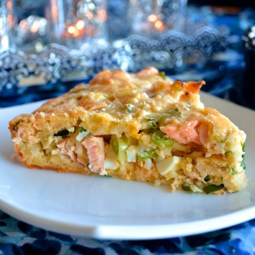 Salmon Rice Bake Recipe Liveocean Seafoods
